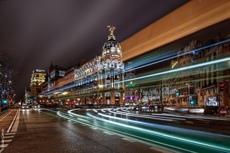 Photograph Madrid Lights by Jesús M. García © on 500px