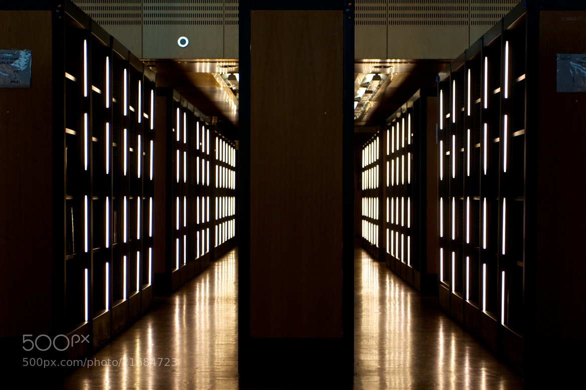 Photograph Shelves and lights by Guido Merkelbach on 500px