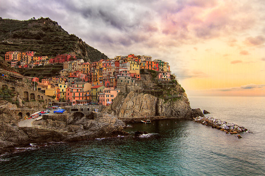 Photograph Manarola at Afternoon by Roberto Becucci on 500px