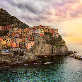 Manarola at Afternoon by Roberto Becucci (Macroroby)) on 500px.com