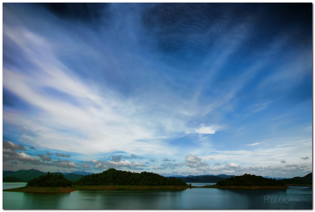 Photograph Blue sky by Pilikan Ch on 500px