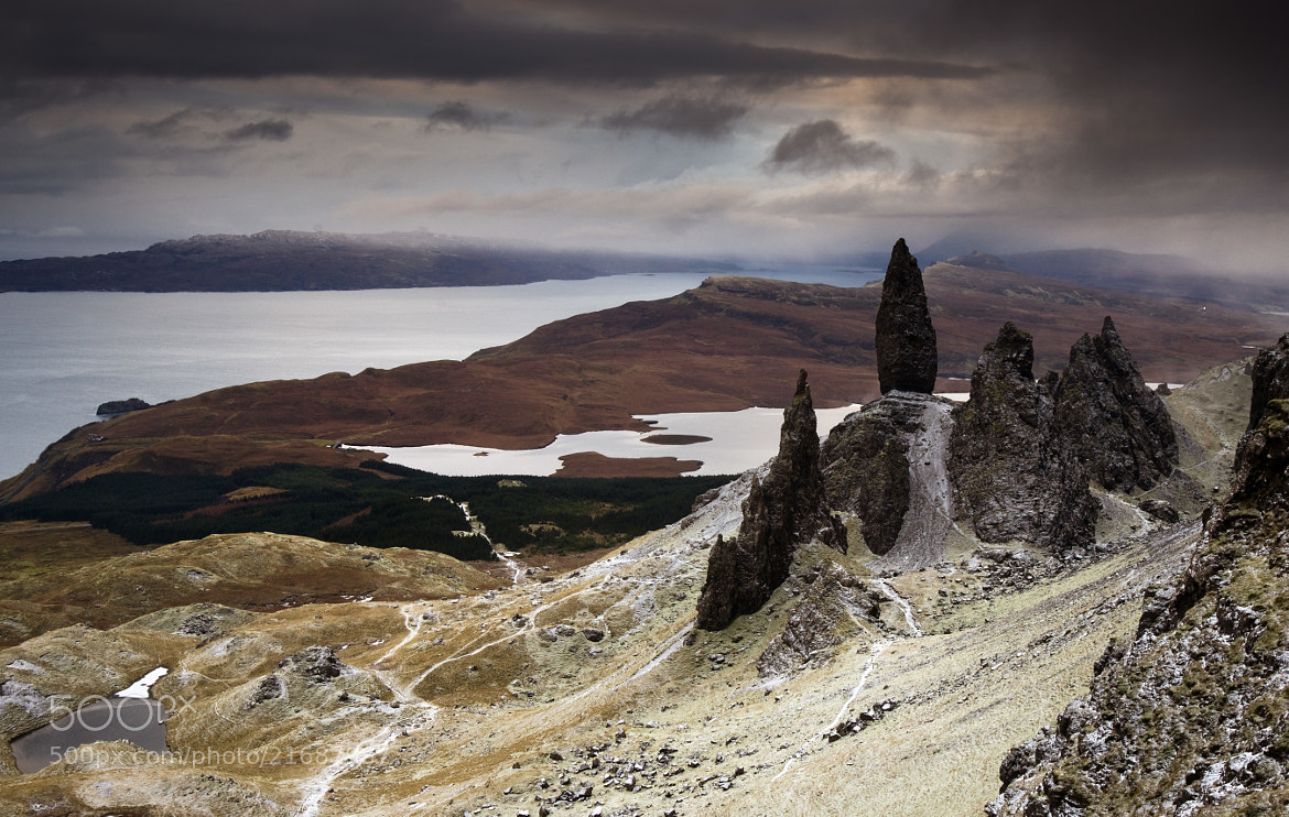 Photograph The Old Man of Storr in Winter by Kenny Muir on 500px