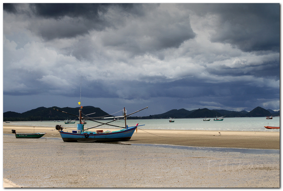 Photograph Boat on sand by Pilikan Ch on 500px