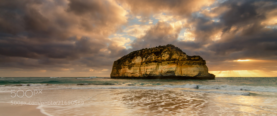 Photograph Childers Cove Panorama by Aaron Toulmin on 500px