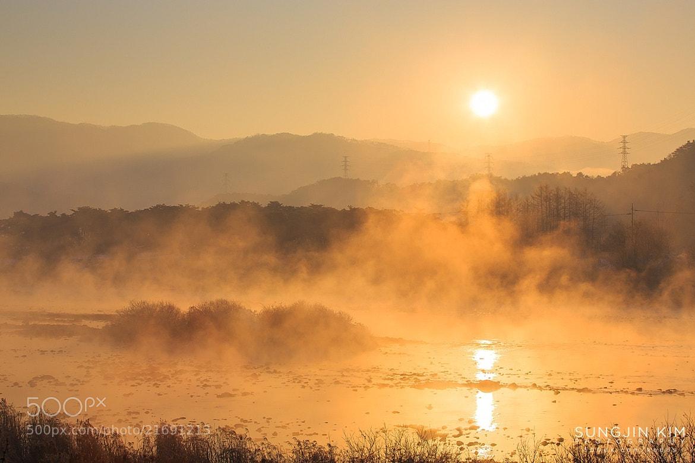 Photograph Boiling sunrise by Sungjin Kim on 500px
