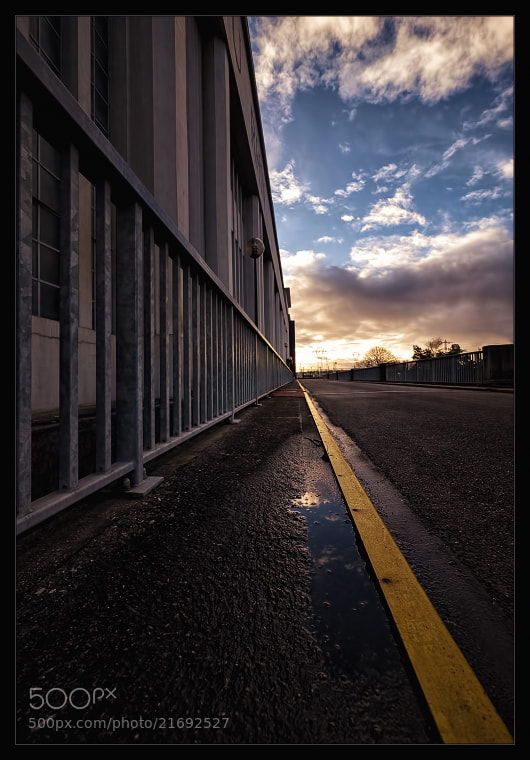 Photograph The yellow line by Stéphane ABCDEF on 500px