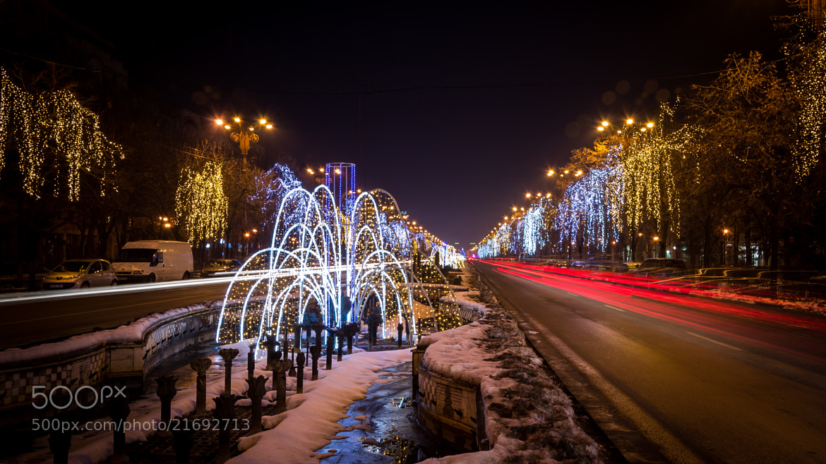 Photograph Bucharest Christmas lights by Valentin Iancu on 500px