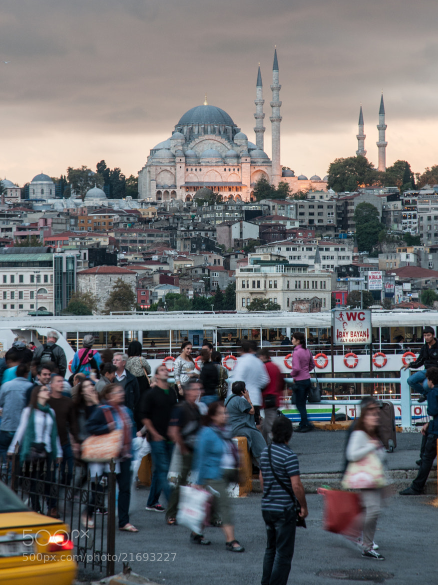 Photograph Lively Istanbul by Christoffer Gebel on 500px