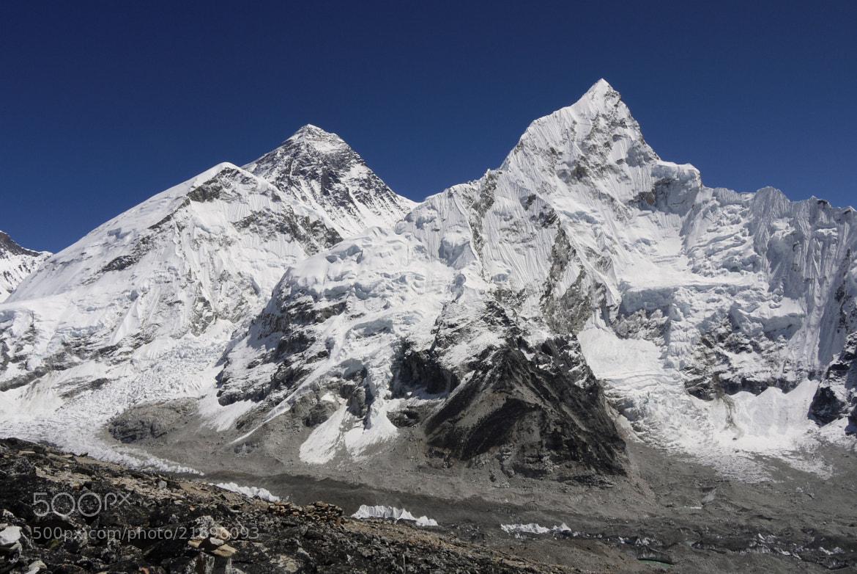 Photograph Mt Everest by Petr Podroužek on 500px