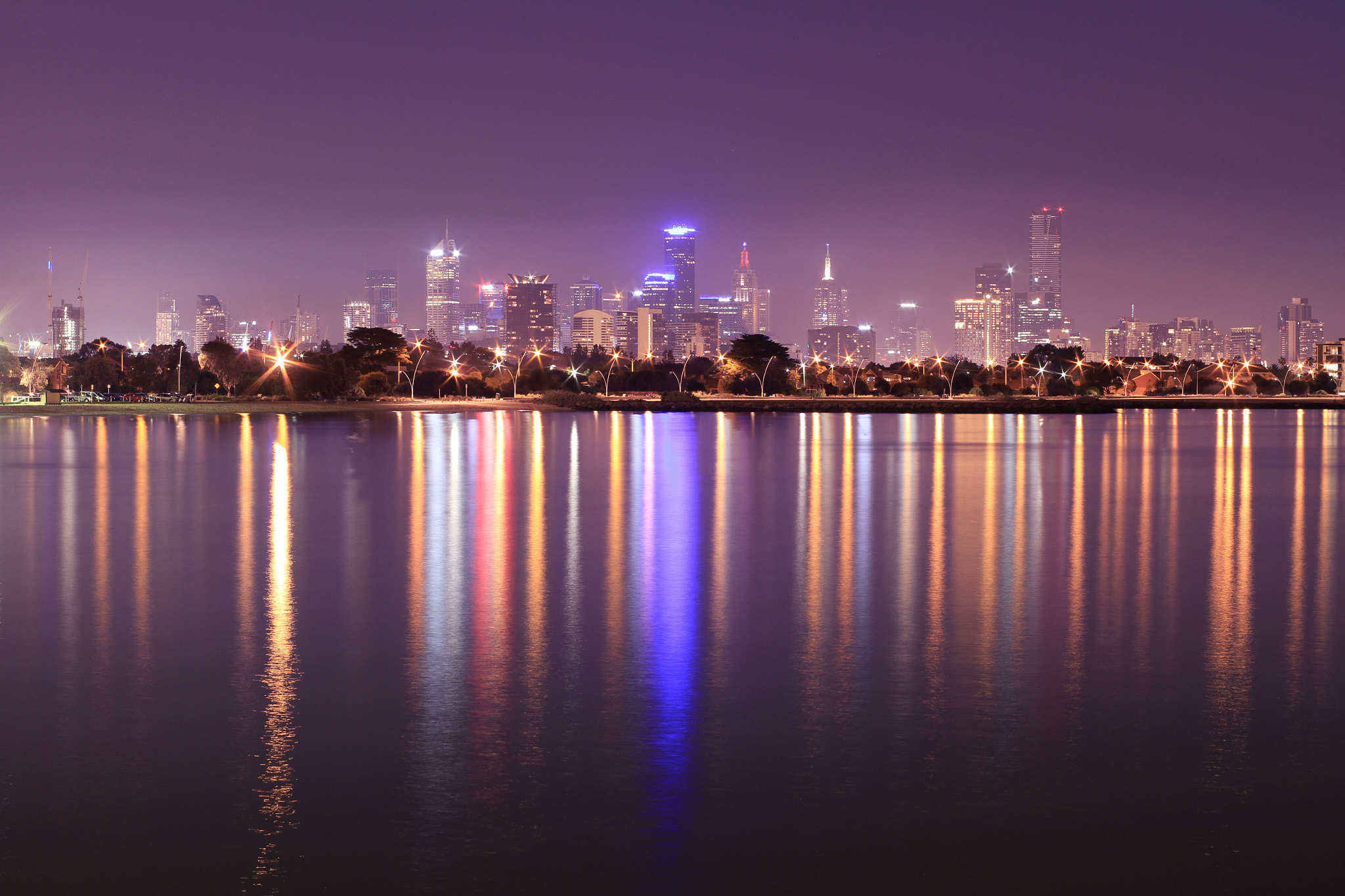 Photograph Misty Port Melbourne by H.P. Ng on 500px