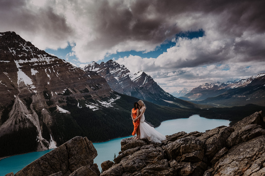 Rocky Mountain Brides oleh Carey Nash di 500px.com