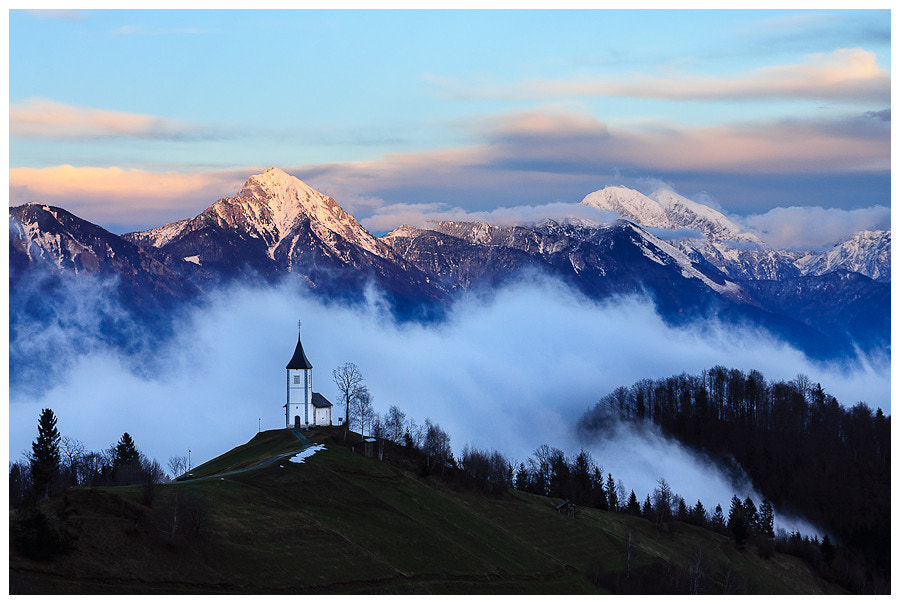 Photograph Evening on Jamnik by Simon Benedičič on 500px