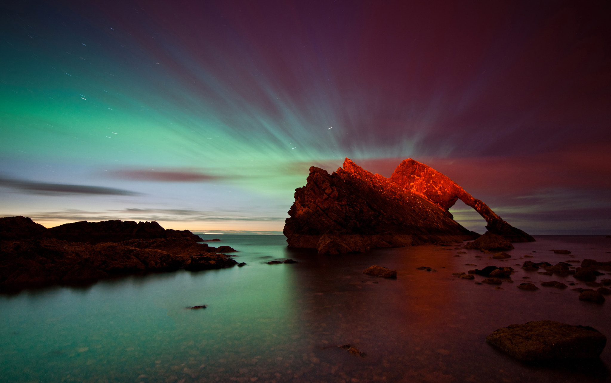 Photograph Bow Fiddle aurora by Kenny Muir on 500px