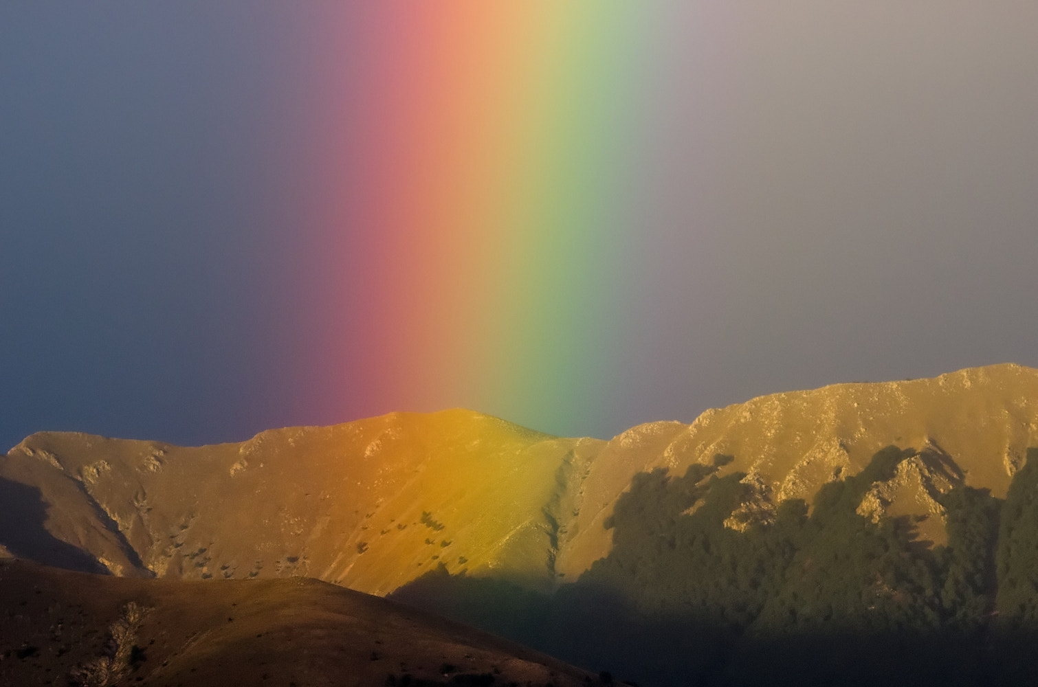 Photograph Qui nasce l'arcobaleno / Here born the rainbow by Federico Tomasello on 500px