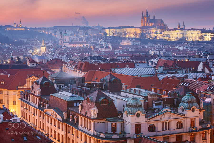 Photograph Prague - Cold Night by Michael  Breitung on 500px