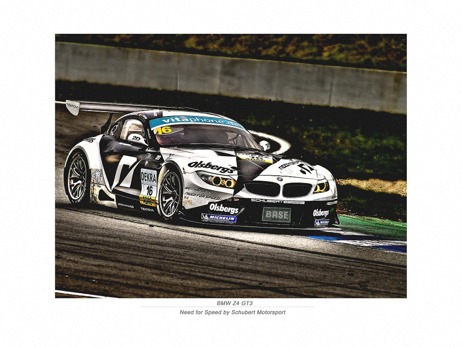 Photograph BMW Z4 GT3 by lightshots on 500px