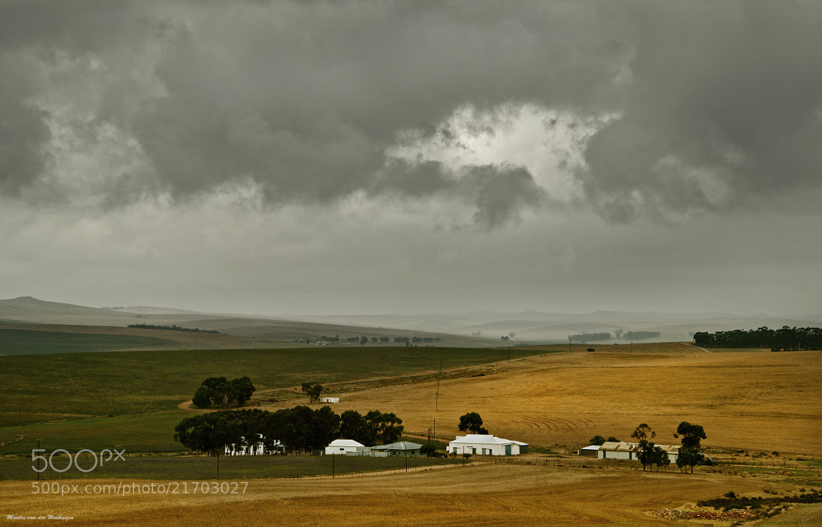 Photograph Farmstead in the Western Cape by Martha van der Westhuizen on 500px