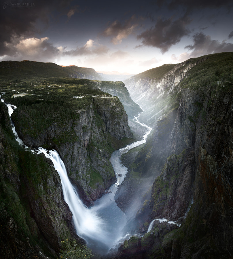 landscape photo Jurassic Gorge by landscape photographer Janne Kahila on 500px.com