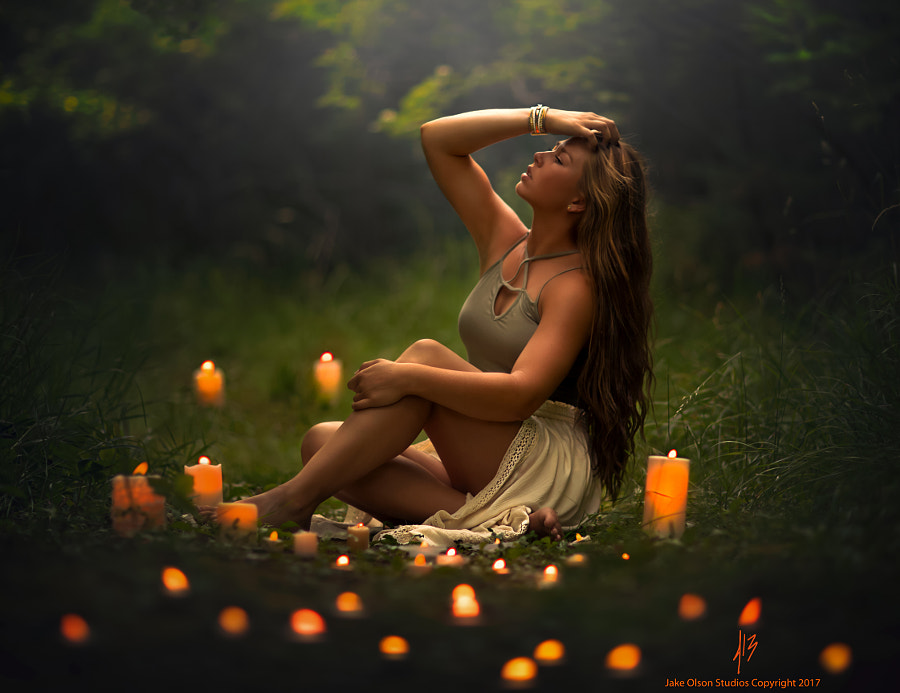 By Candlelight by Jake Olson Studios