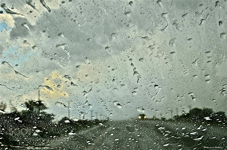 Photograph Windscreen Waterdrops by Martha van der Westhuizen on 500px