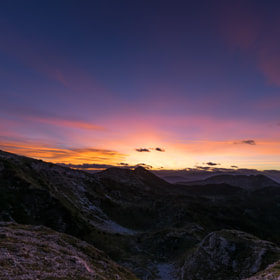 Sunset on Pasubio