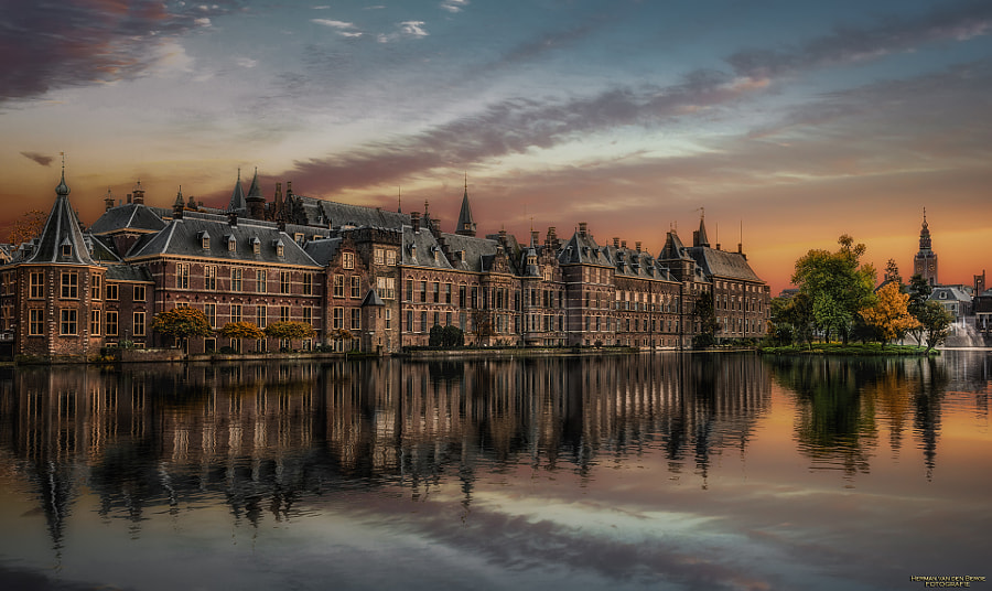 landscape Photo House of Cards III by Landscape photographer Herman van den Berge on 500px.com