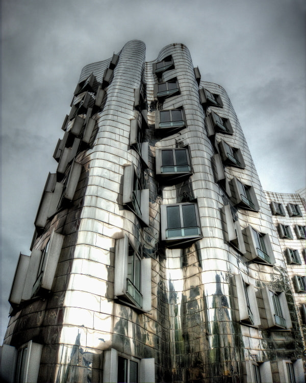 Photograph Gehry @ Dusseldorf by Max Privette on 500px