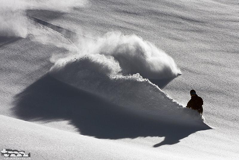Photograph Deep Powder by Tinu Müller on 500px