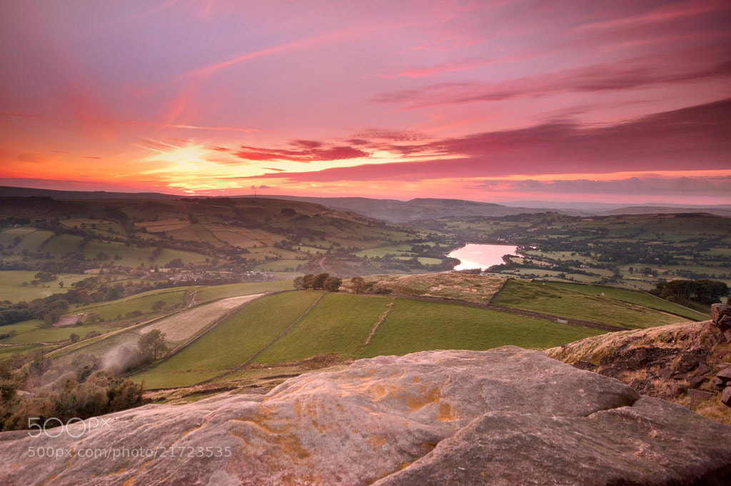 Photograph Castle Naze view by Phil Sproson on 500px