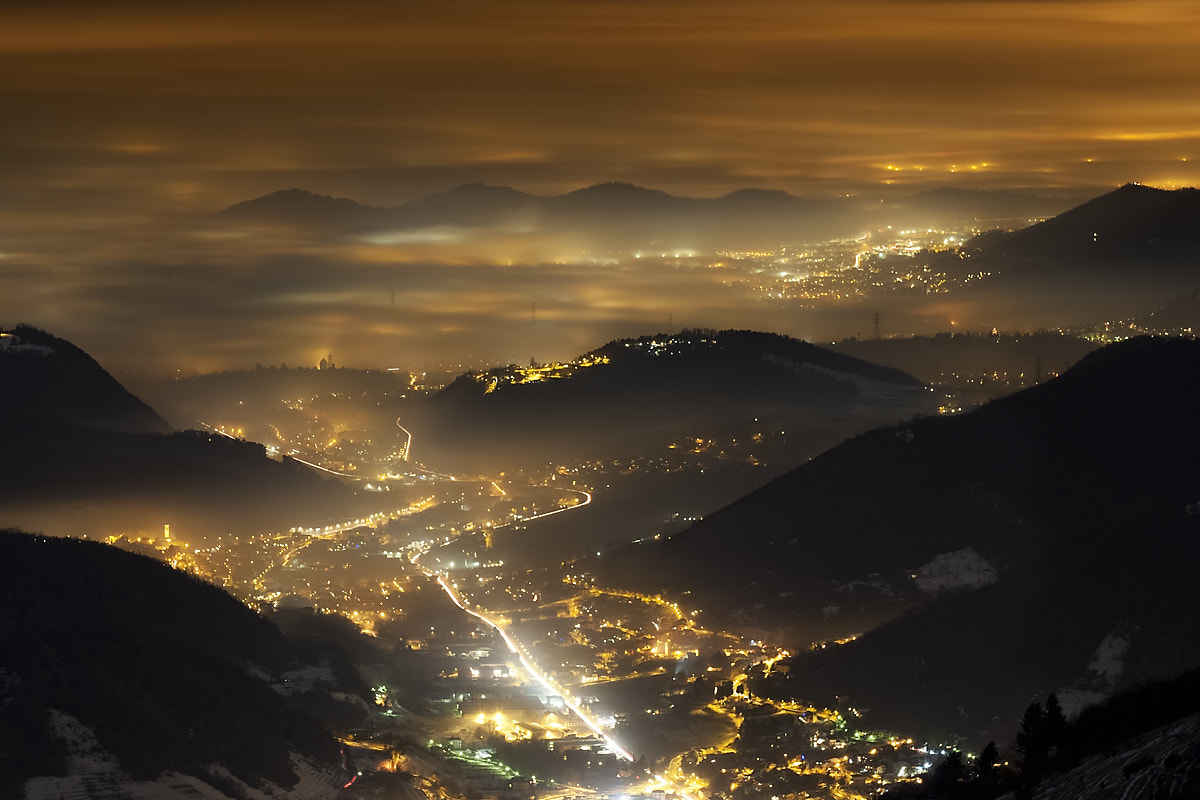 Photograph Fog in the night by Aglioni Simone on 500px