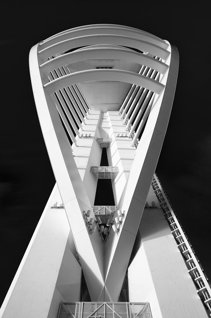 Photograph Spinnaker Tower by Giles McGarry on 500px