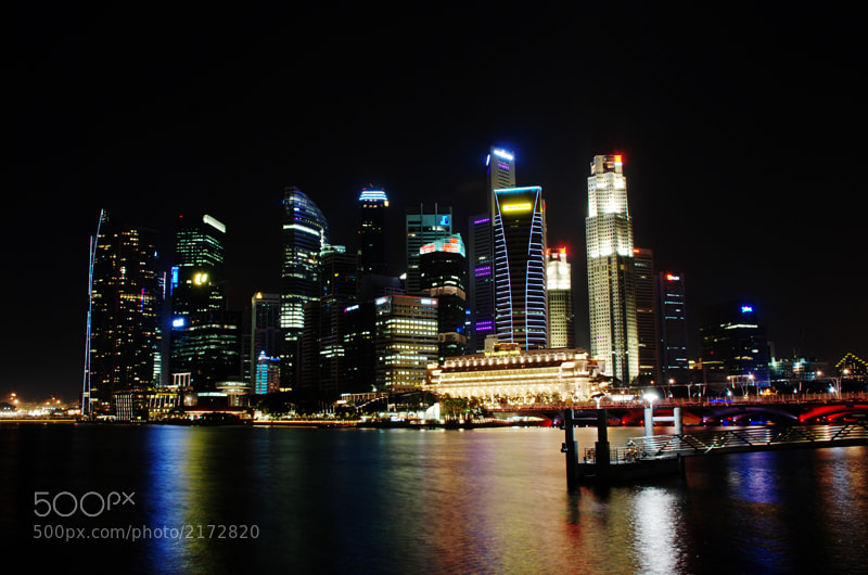 Photograph The Bay at Night by Kaan Cornelio on 500px