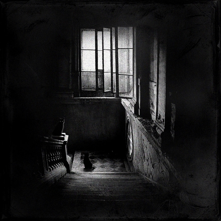 Photograph quiet stairwell by Emese-durcka Laki on 500px