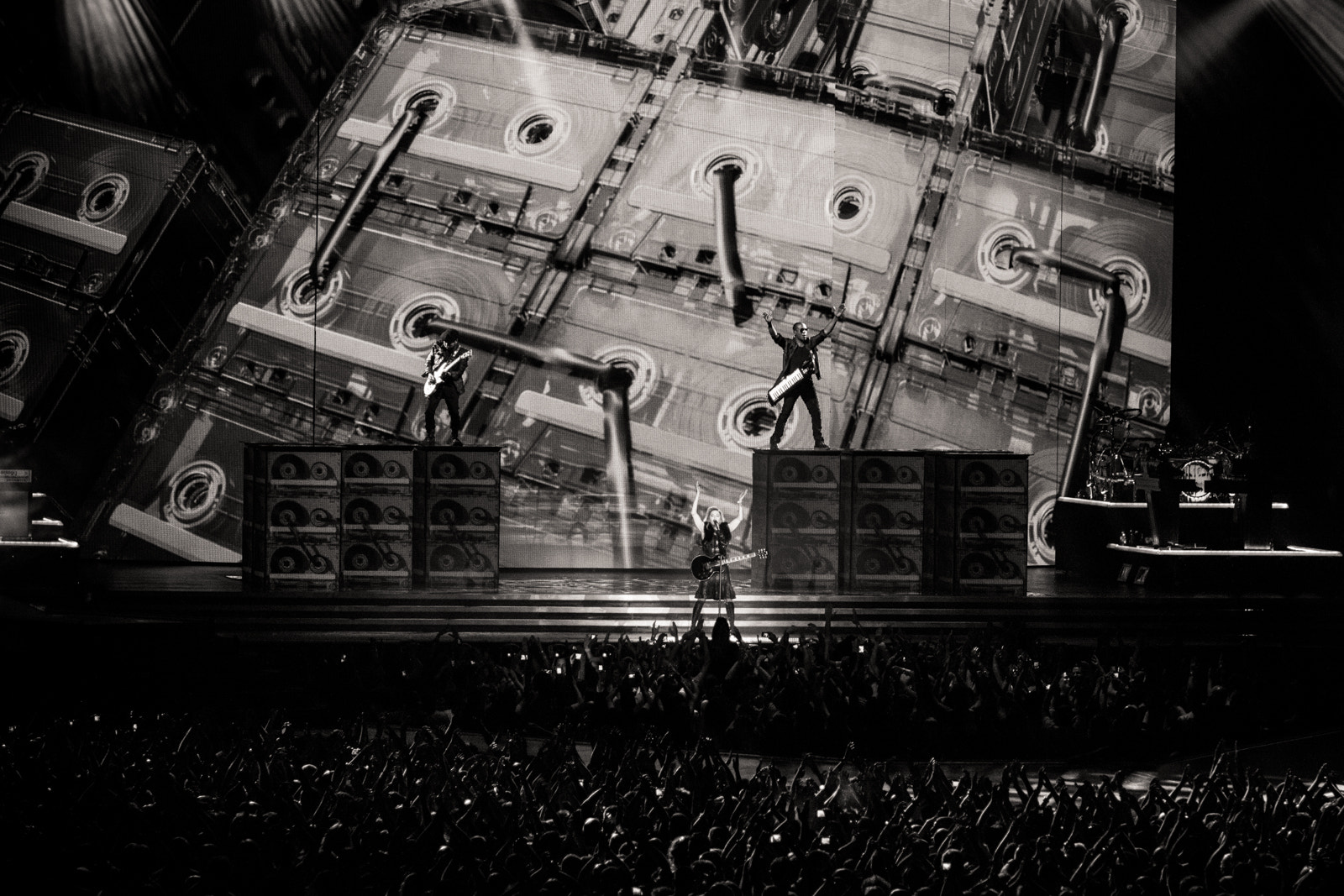 Photograph Madonna - MDNA Opening act by Guy Prives on 500px