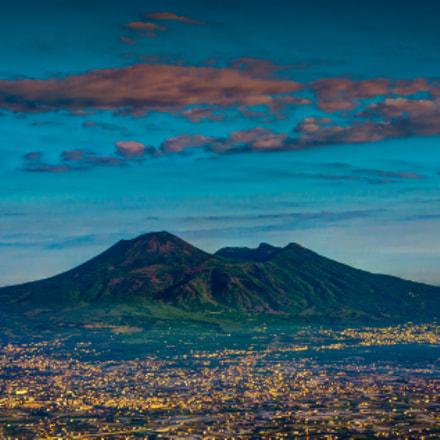 Sunrise over Vesuvius.