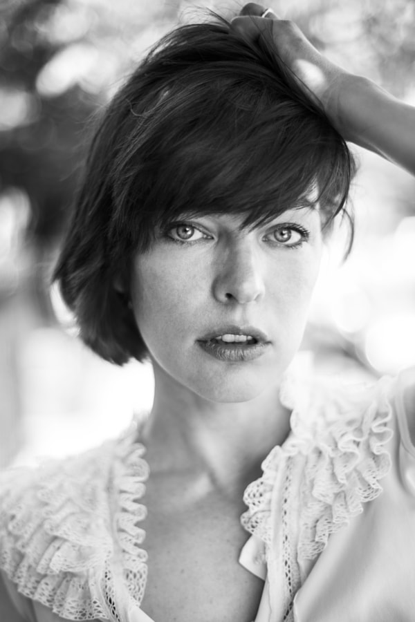 Milla Jovovich by Agata Serge on 500px.com