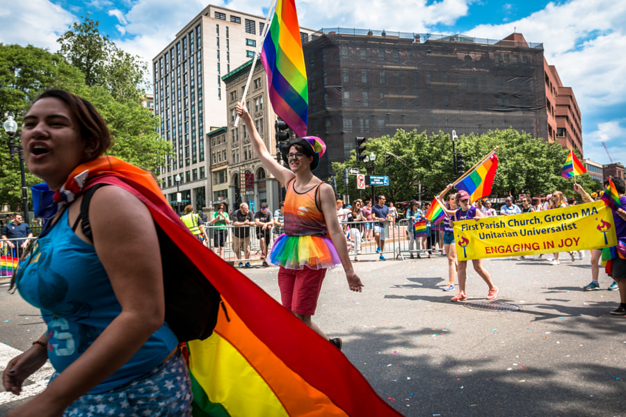 Boston Pride, June 2016 by Igal Shkolnik on 500px.com