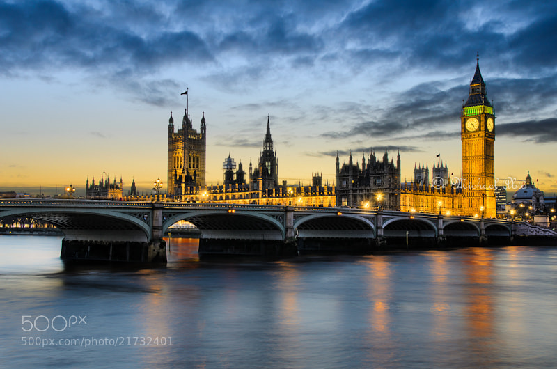 Photograph London Sunset by Michael Abid on 500px