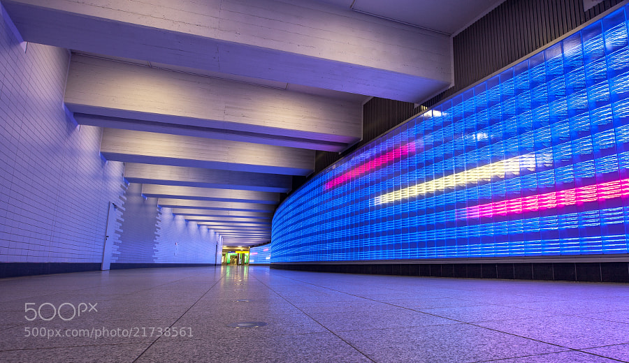 Photograph Underground tunnel by Bjarte Haugland on 500px