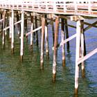 The northside of the Malibu Pier.