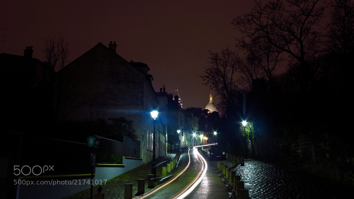 Photograph MONTMARTRE, WINTER'S NIGHT by Mathieu AIMARD on 500px