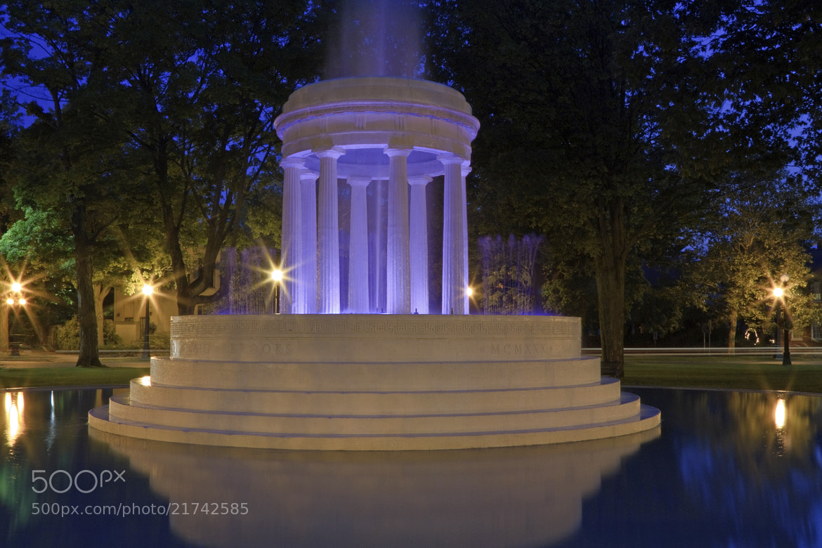 Photograph Ghostly Fountain by Tim Kornoelje on 500px