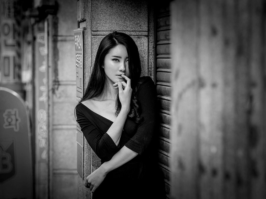 ***A Moment in Busan*** by Joachim Bergauer