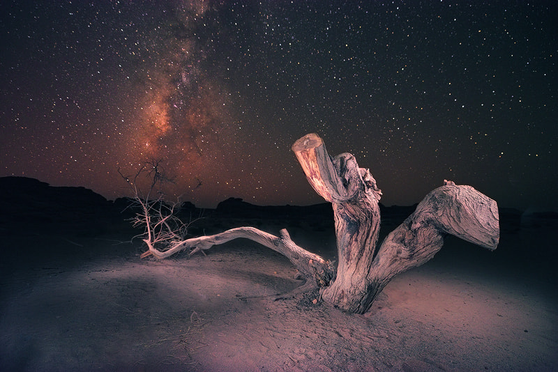 Photograph Night Sky, Milky Way Galaxy by Nasser  AlOthman on 500px