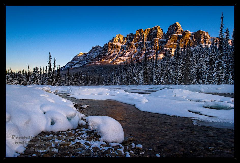 Photograph Sunrise at Castle Mountain by Neil Jolly on 500px