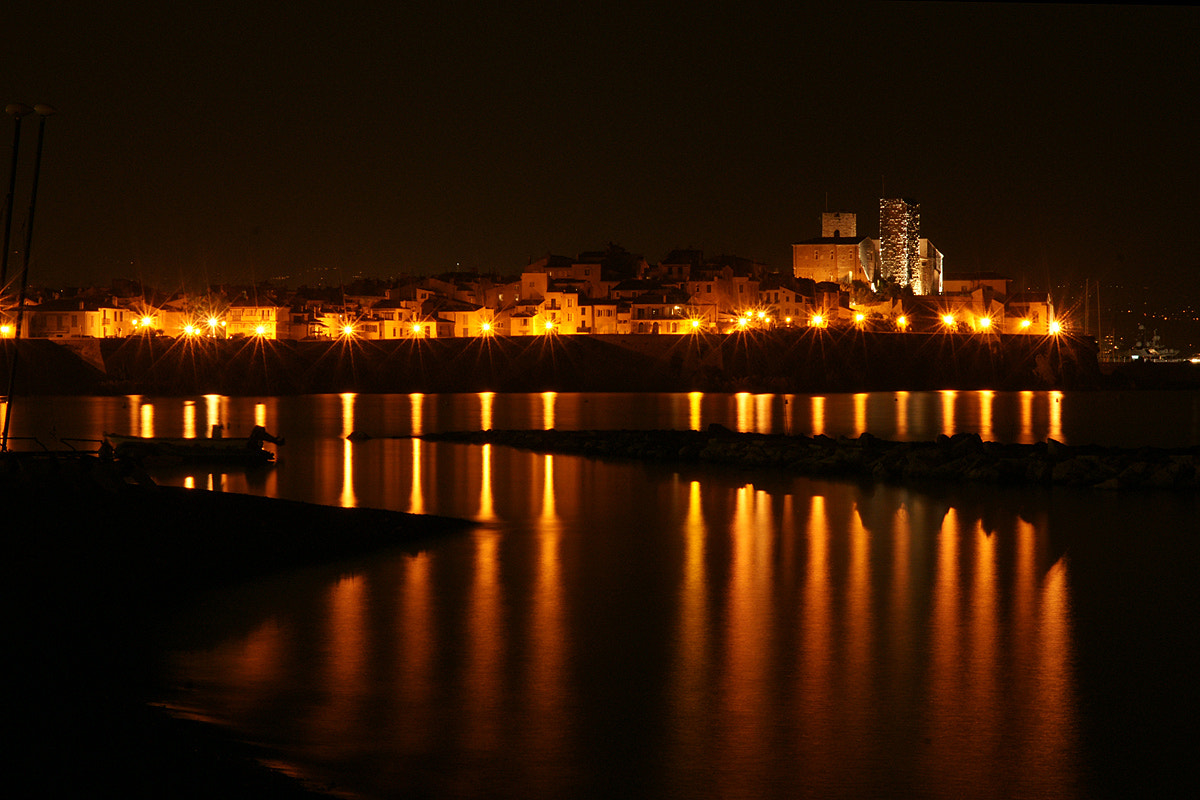Photograph Antibes by night by Christian Mair on 500px