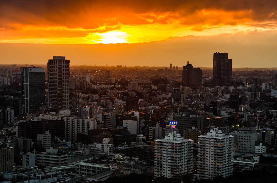 Photograph Tokyo Sunset II by Alessandro Baffa on 500px