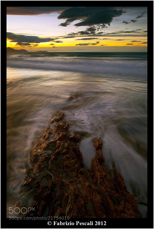 Photograph Sopelana Sunset by Fabrizio Pescali on 500px
