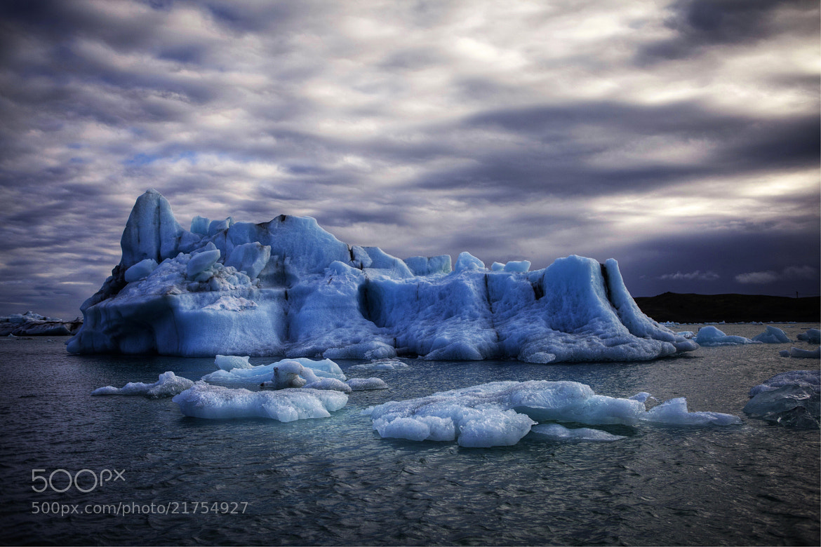 Photograph Clouds over  Jökulsarlon  by Béla Török on 500px