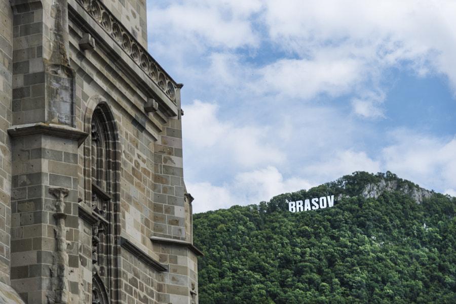 Black Church Wall - Brasov, Romania